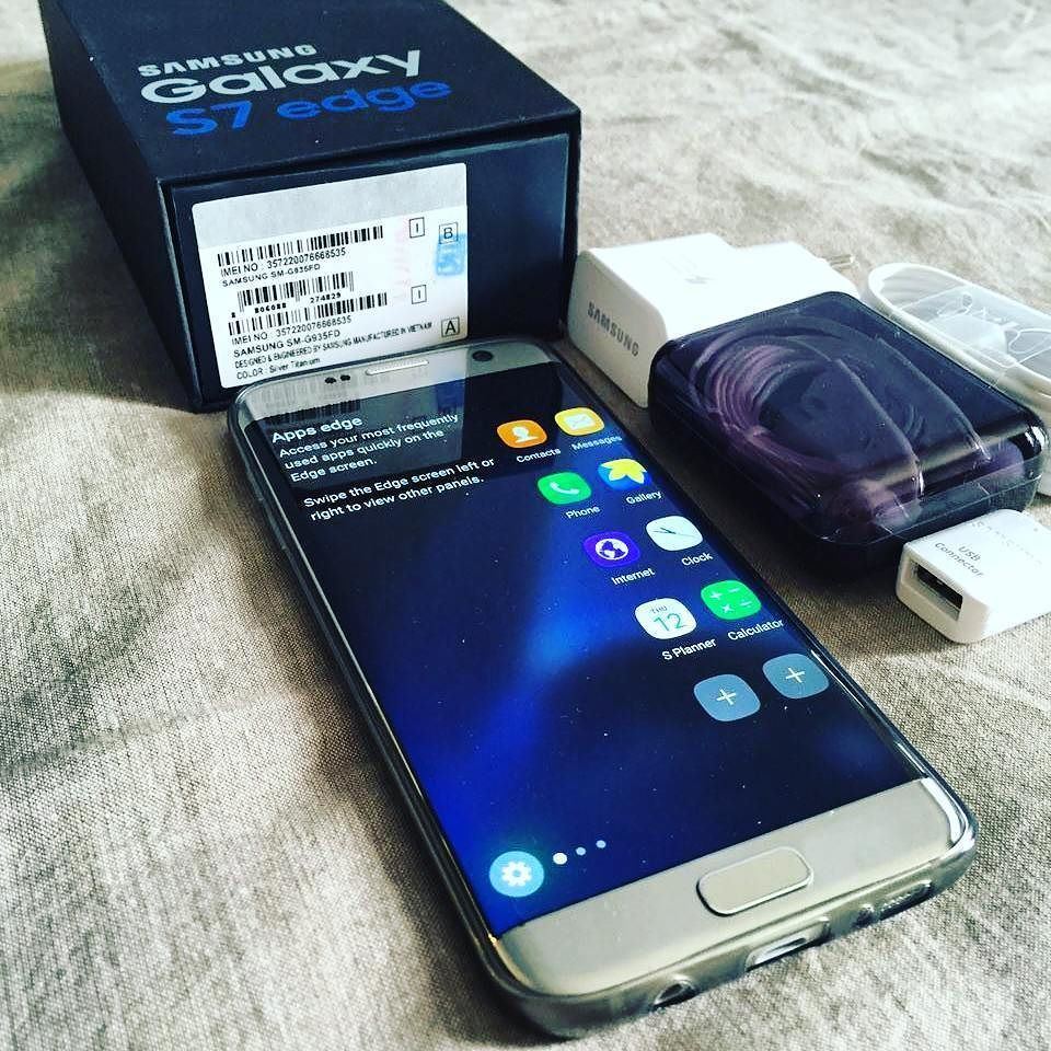 Brand New Samsung Galaxy S7 Edge 12 Megapixel Camera Super Amoled Display Octa Core Processer Samsung Galaxy Samsung Galaxy S7 Edge New Samsung Galaxy Linux
