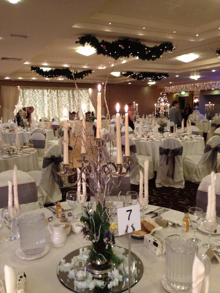 Christmas Themed Wedding Weddings At The Lodge Hotel Pinterest