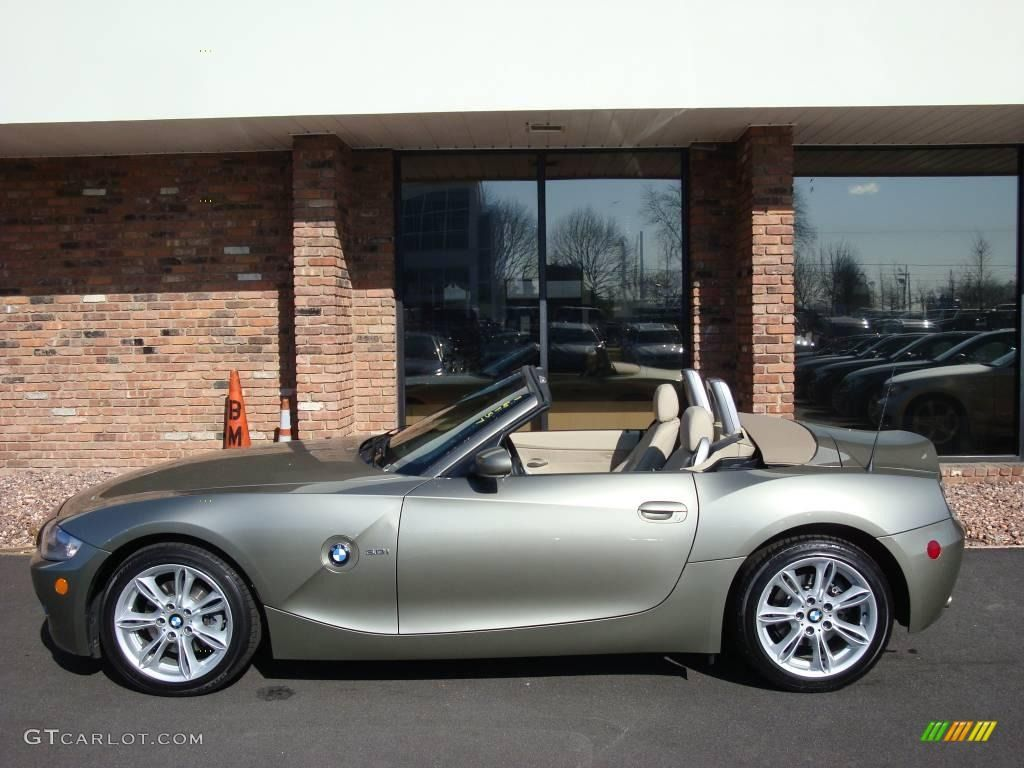 Bmw olivine colors 2005 bmw z4 3 0i roadster olivine green metallic color