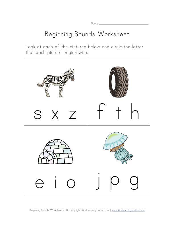 preschool worksheets   kid stuff   Pinterest   Worksheets, Phonics ...