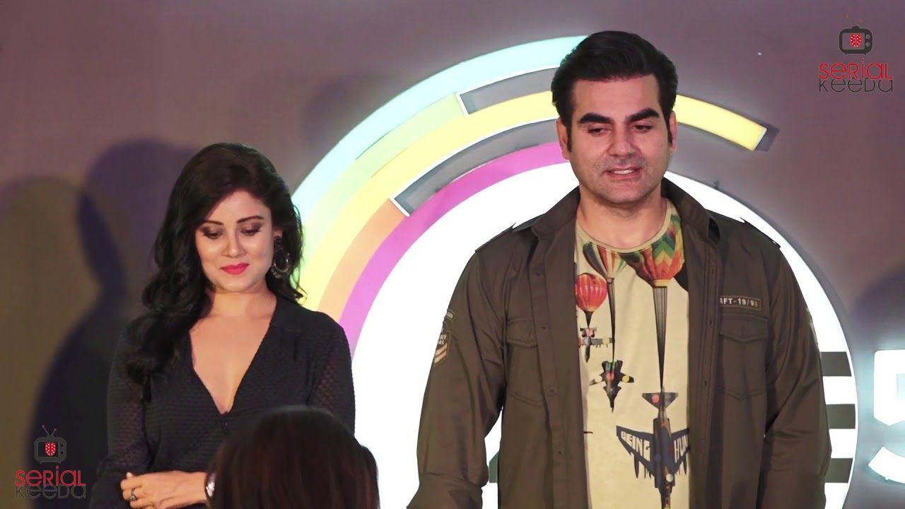 Arbaaz Khan & Riya Sen At Press Conference Of Zee5 Web