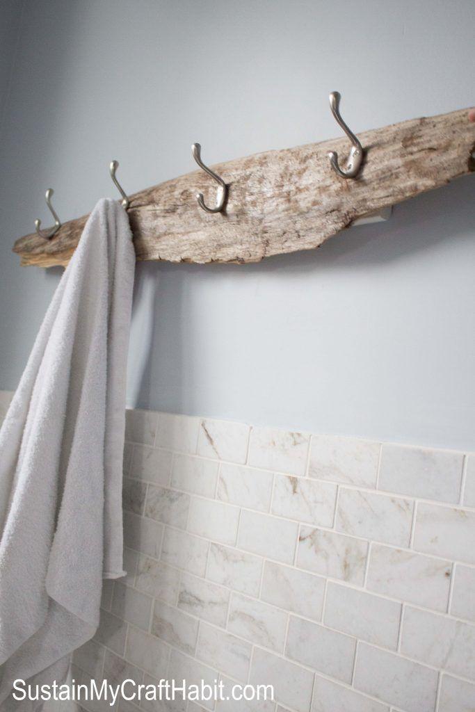 Photo of DIY Towel Rack Idea