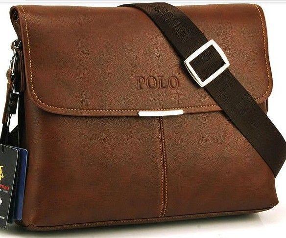 Polo Leather Men Messenger Bag Fashion