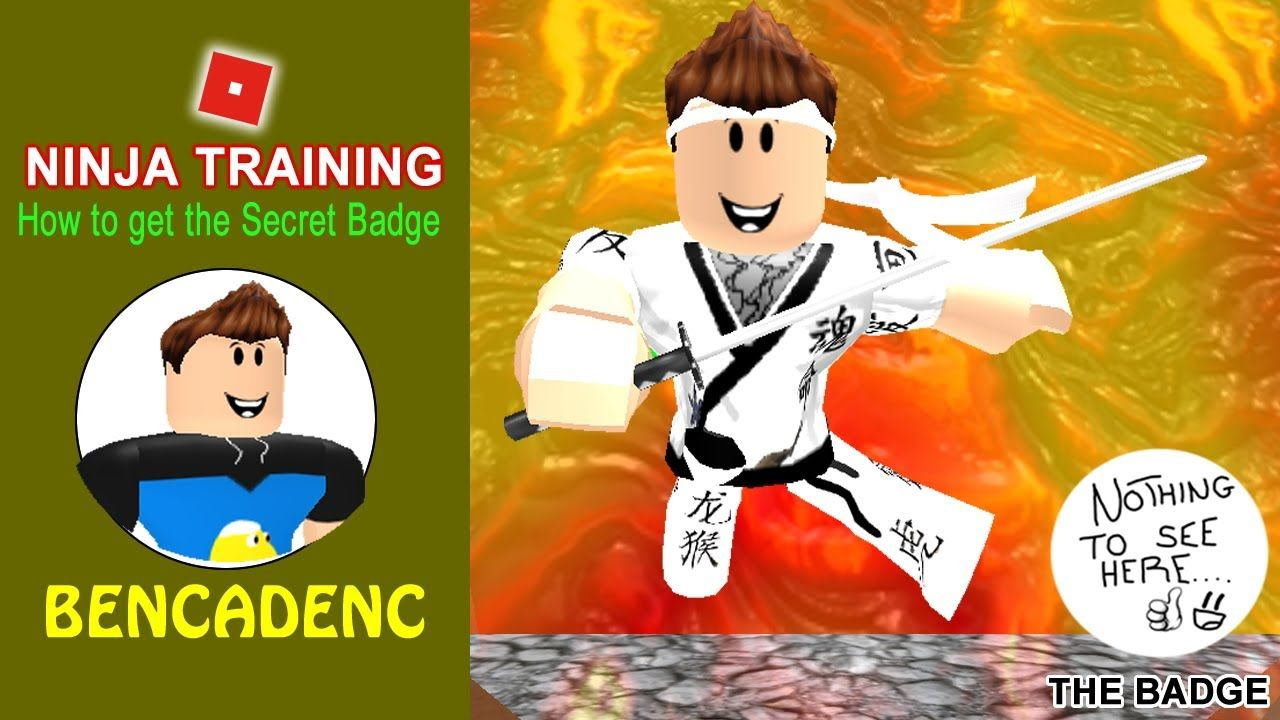 Ninja Training Obby In Roblox How To Get The Secret Badge Easily