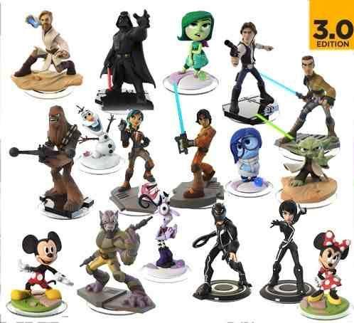 Coleccion De Munecos Infinity De La Saga De Star Wars O El Clasico