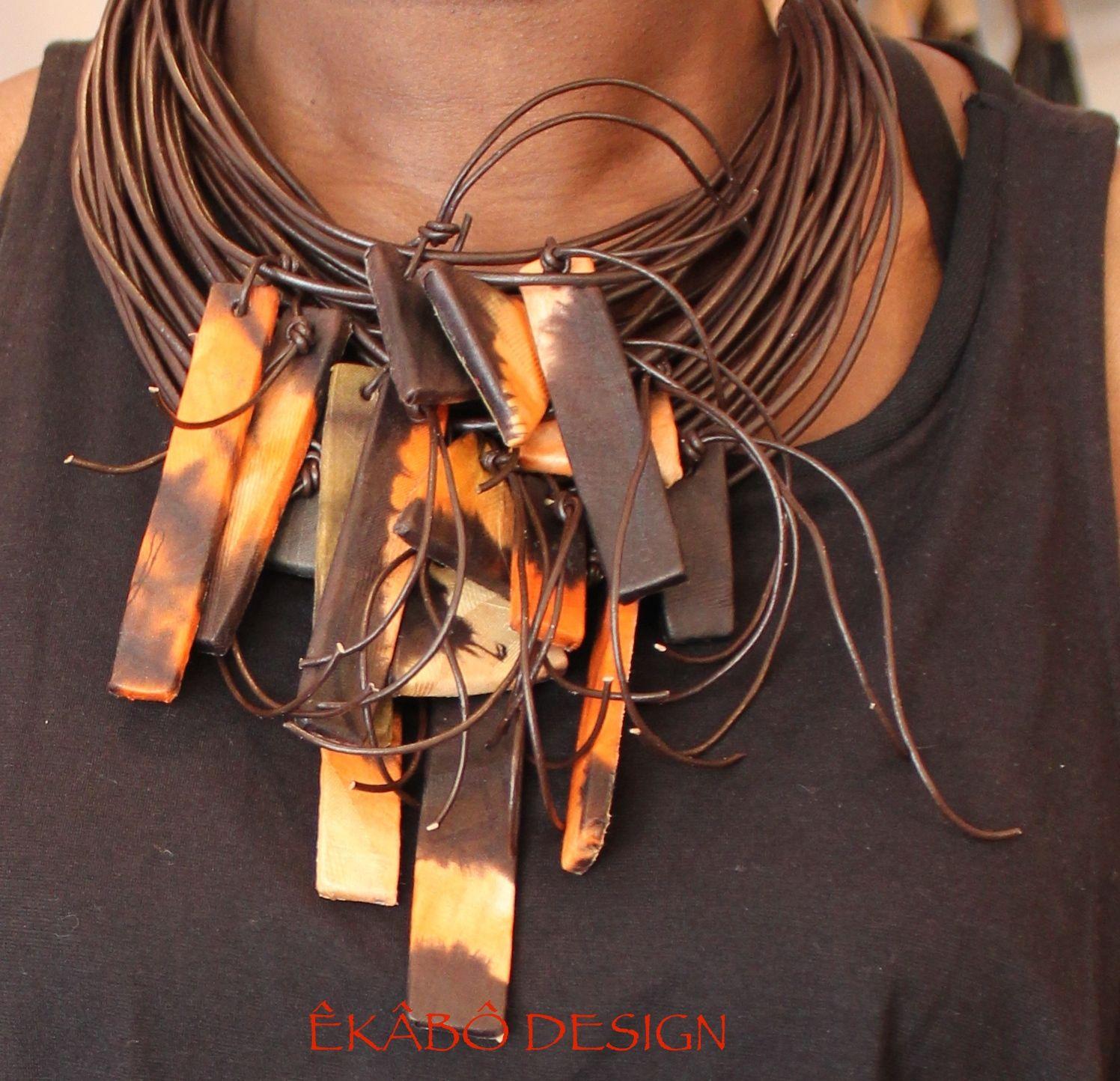 collier ethnique africain ekabodesigns.com