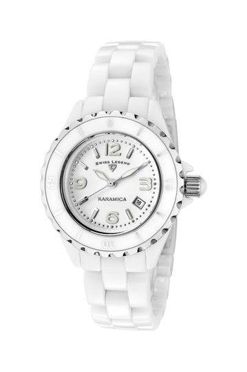 Ceramic watch