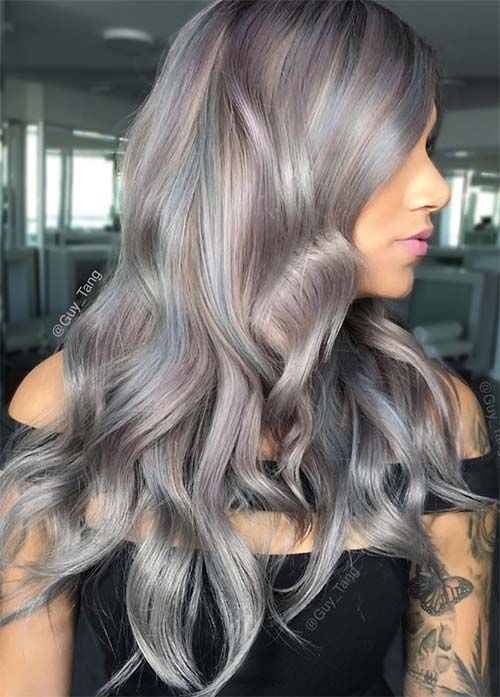 85 Silver Hair Color Ideas And Tips For Dyeing Maintaining Your