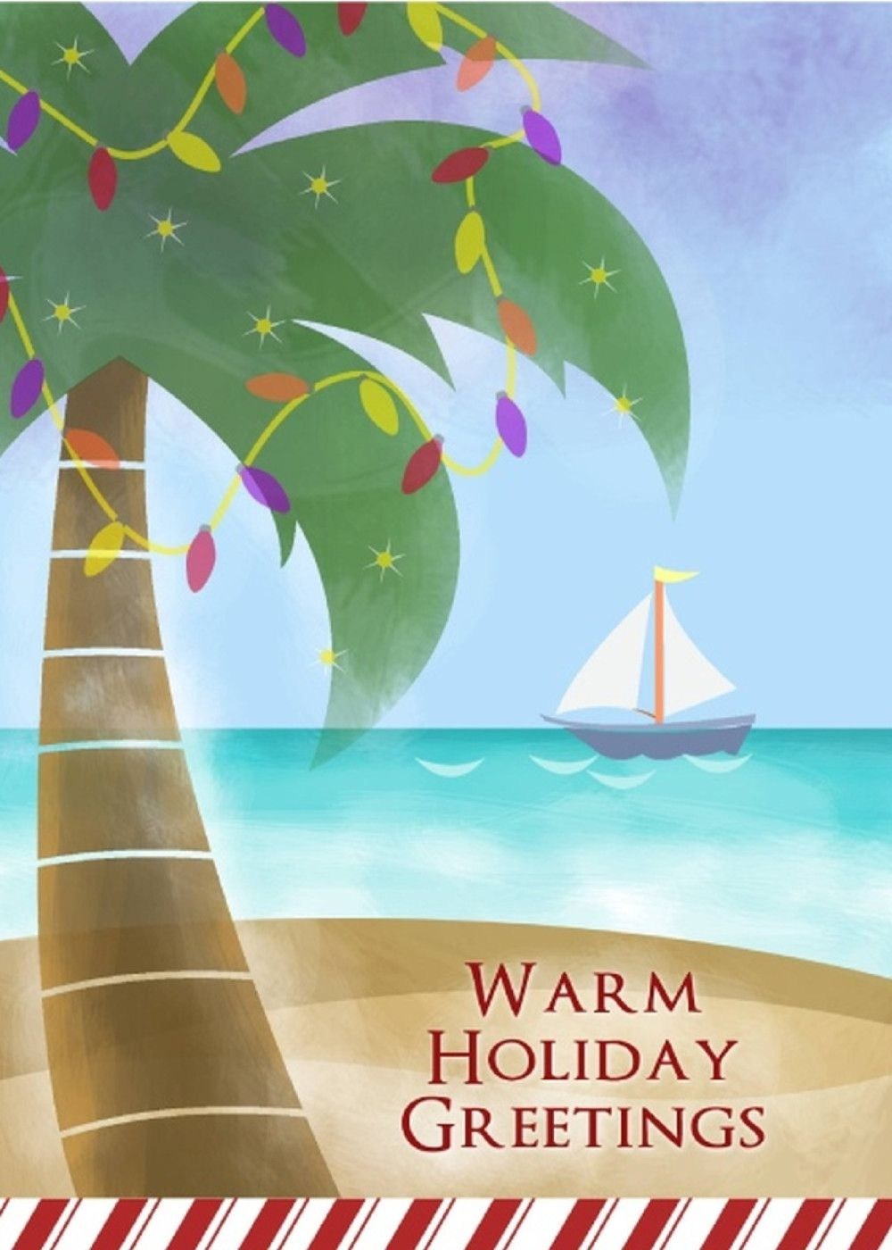 Warm Holiday Greetings Share This Card With Your Family And Friends