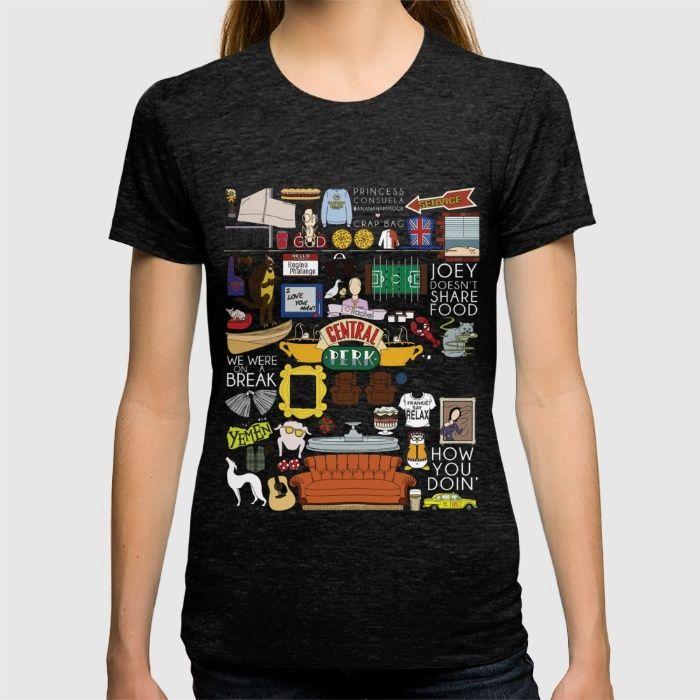 Collage T Shirt Friends Tv Show