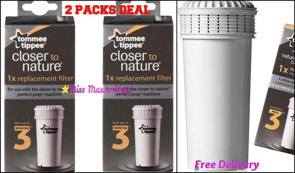Pack of 3 Tommee Tippee® Perfect Prep® Baby Bottle Machine Compatible Filters