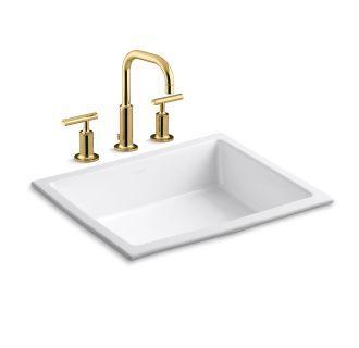 Kohler K 14406 4 K 2882 Bathroom Design In 2019 Undermount Bathroom Sink Widespread Bathroom Faucet Bathroom Faucets