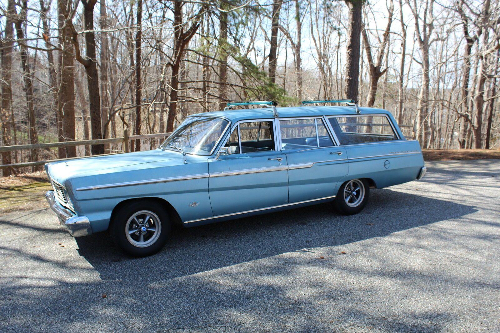 65 ford fairlane 500 station wagon