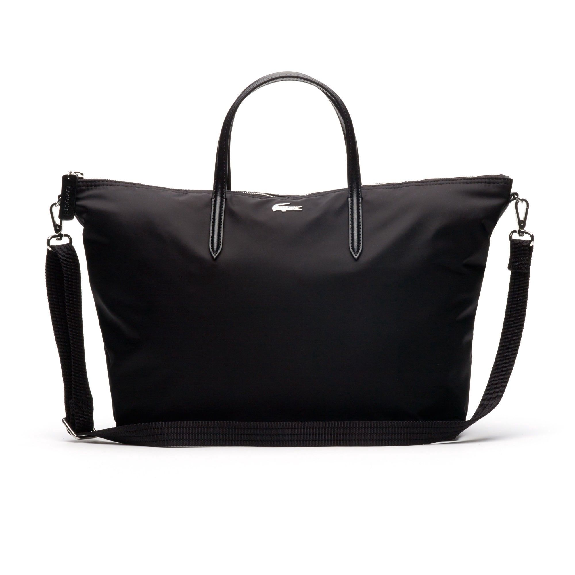 762a6d2fe1 LACOSTE Women s L.12.12 Concept Nylon Zippered Tote Bag.  lacoste  bags  shoulder  bags  hand bags  nylon  tote