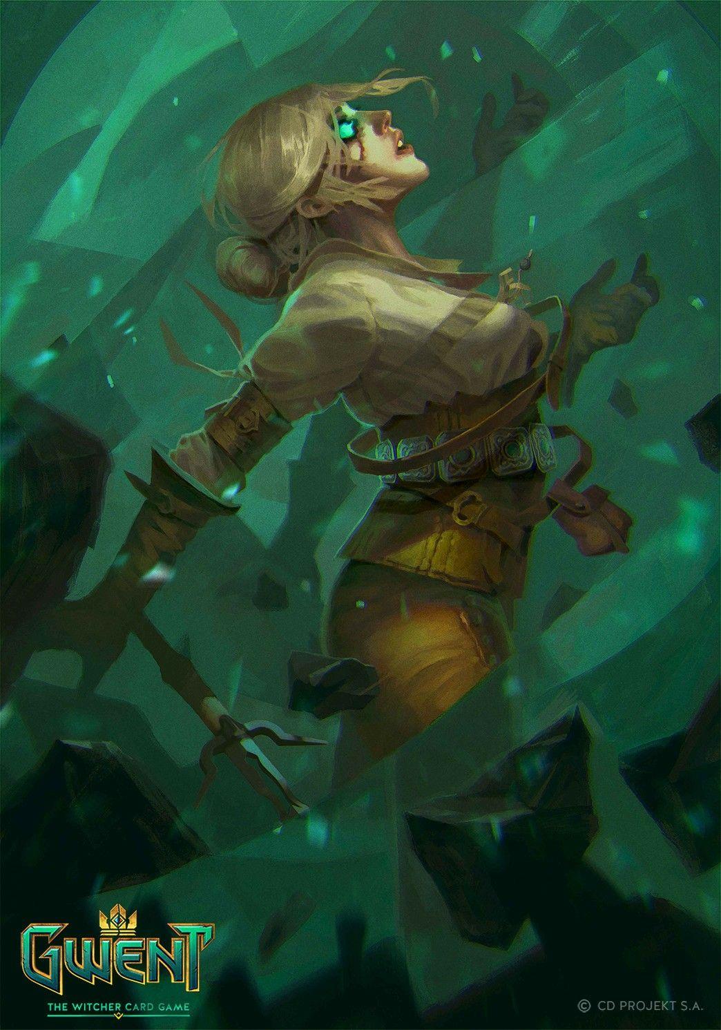 Ciri nova gwent card game gwent arte fantas a - Ciri gwent card witcher 3 ...