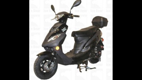 Scooter Moped 50cc No License Plate Registration Or Insurance Needed Free Trunk Motobike 50cc Trunks Motorcycle