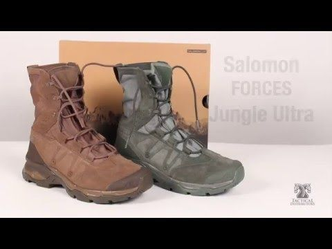 sports shoes 90a96 d4375 Salomon Forces Jungle Ultra Boots | Boots | Jungle boots ...