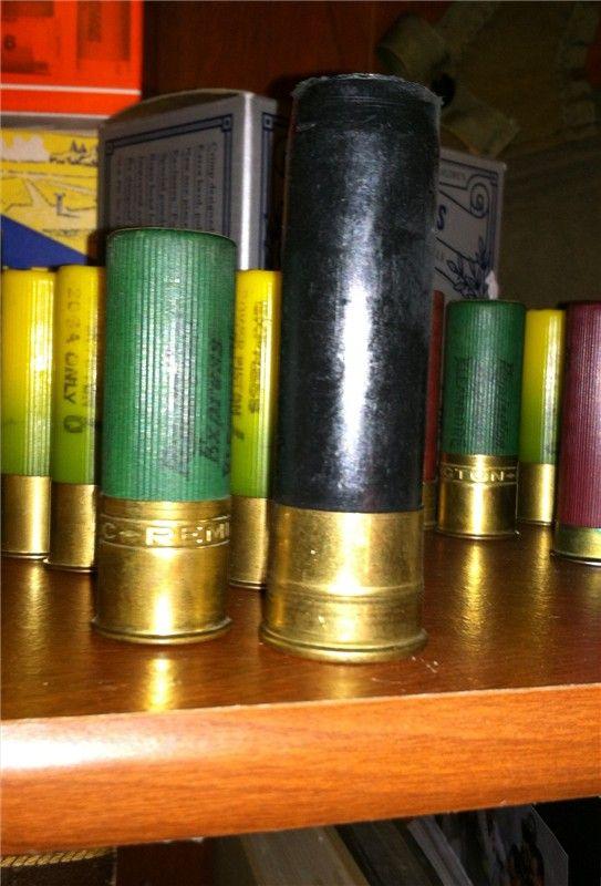 Vintage 8 Gauge Shotgun Shell Hull For Display   waterfowl   Guns