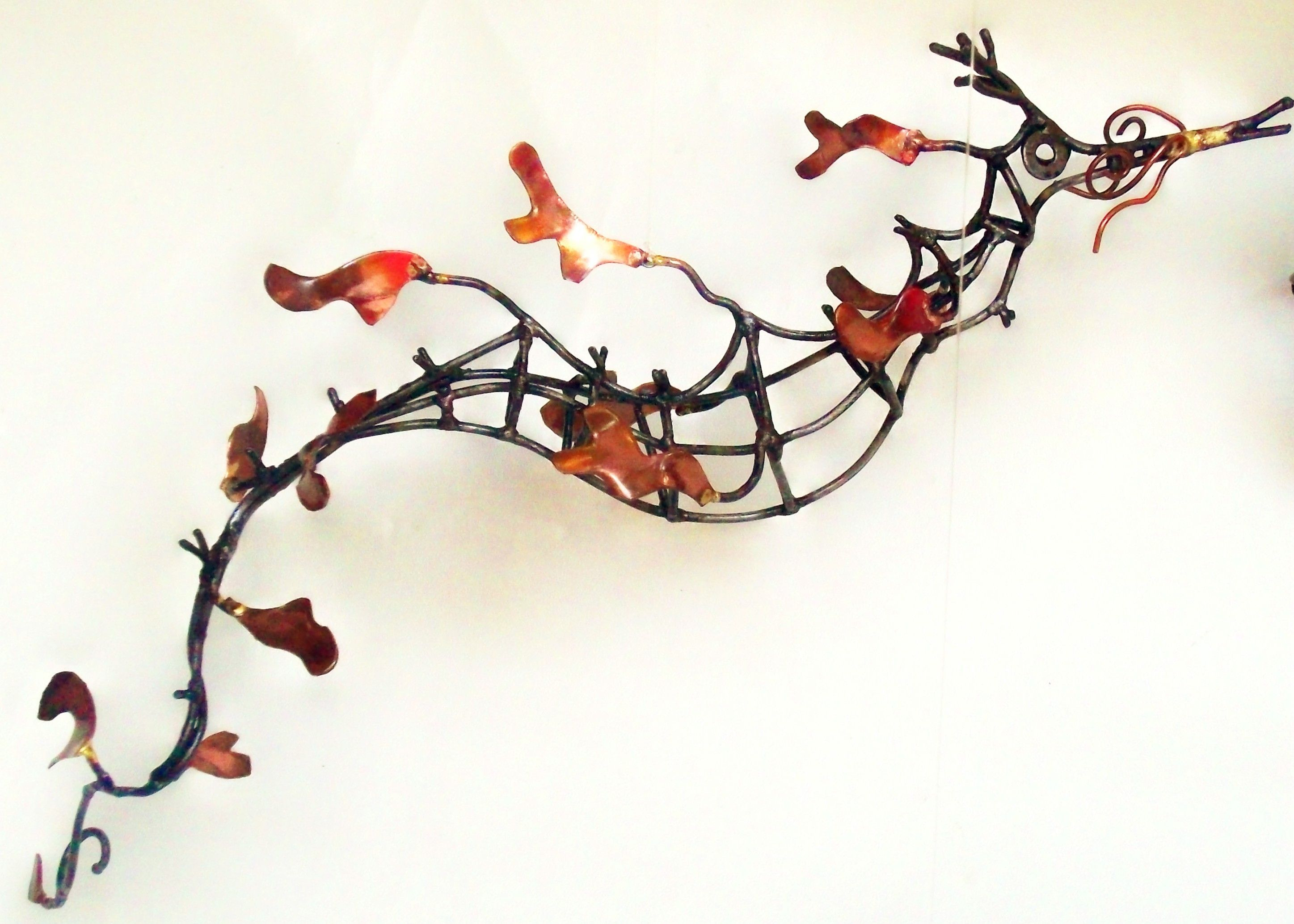 small weedy sea dragon made from coathanger wire and copper! great ...