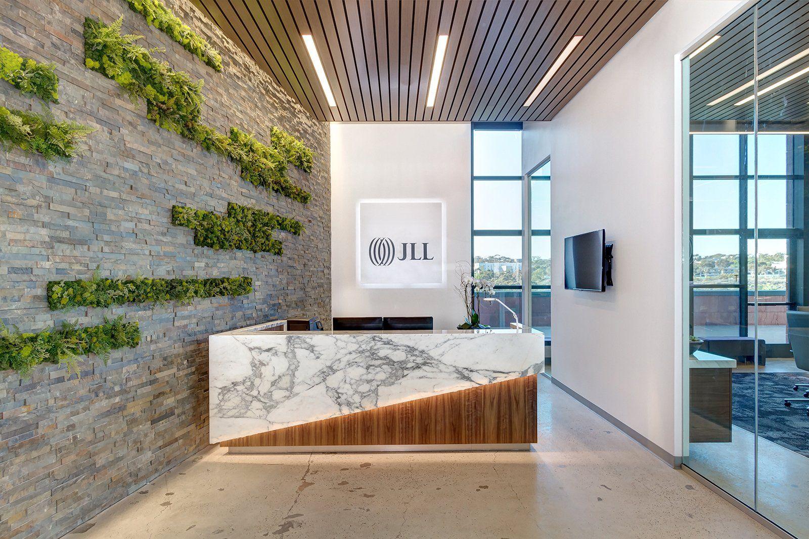 Office Tour Jll Offices La Jolla Office Reception Design
