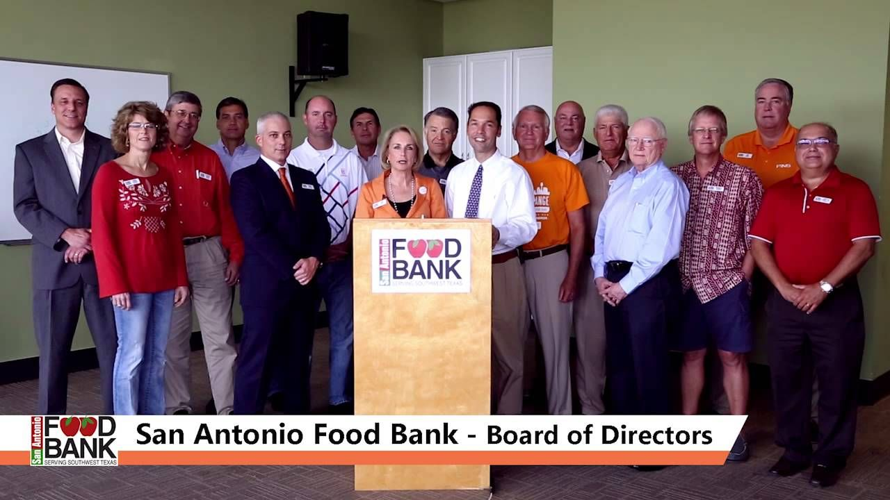 SA Goes Orange - San Antonio Food Bank Board of Directors  What's your way?  www.sagoesorange.org #sagoesorange #hungeractionmonth