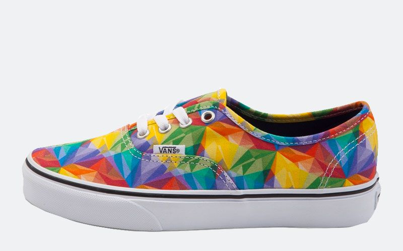 972351e063043f Vans Rainbow Shoes- Celebrate Summer and LGBT Pride Month - http   www