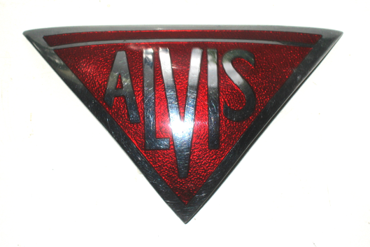 Alvis Ta14 1948 Car Badge Similar Inverted Red Triangle Ed To All Models From The Company S 1920s Beginnings Right Up Until They Ceased