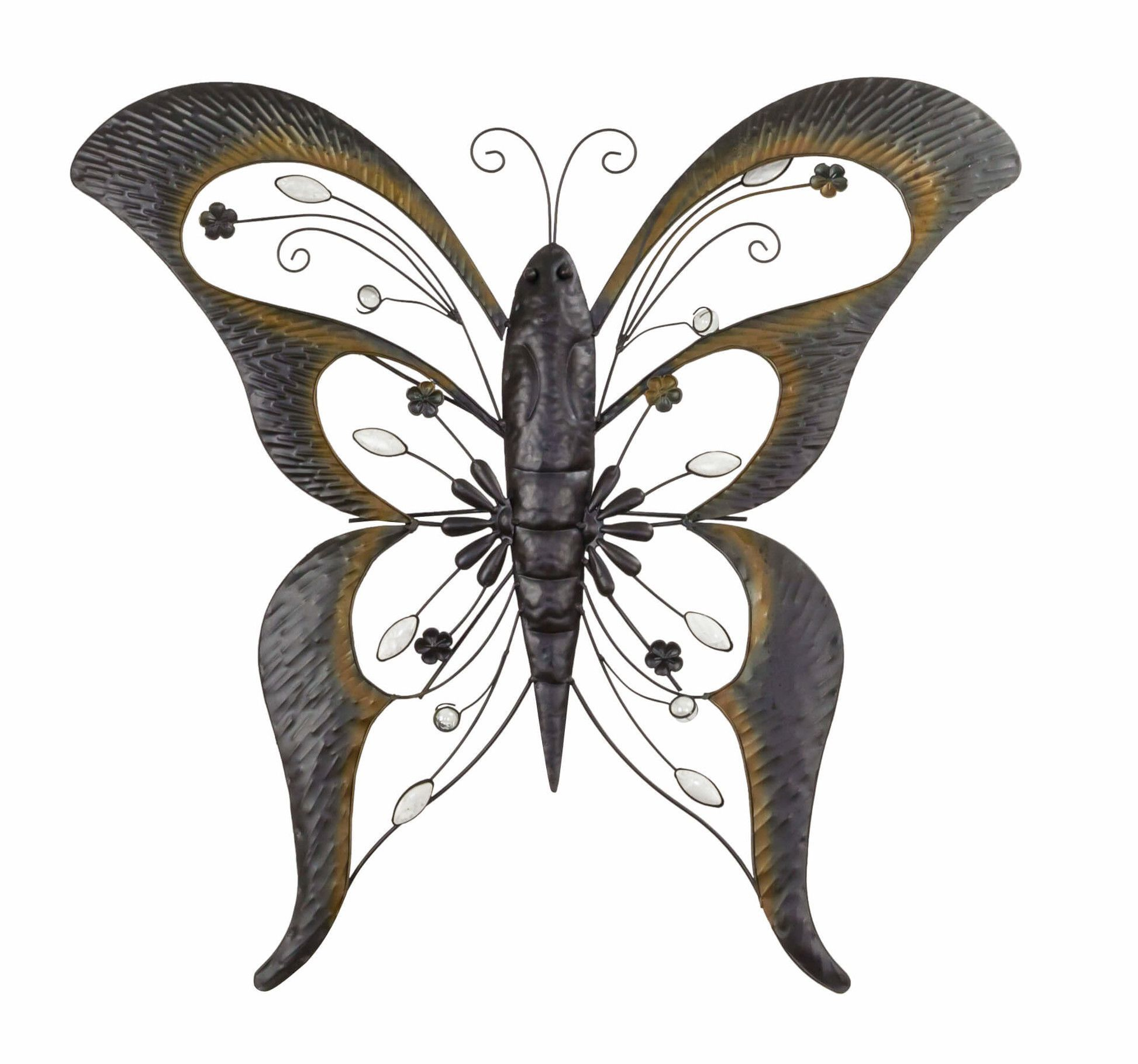 Wrought Iron Butterfly Wall Decor Butterfly Wall Decor