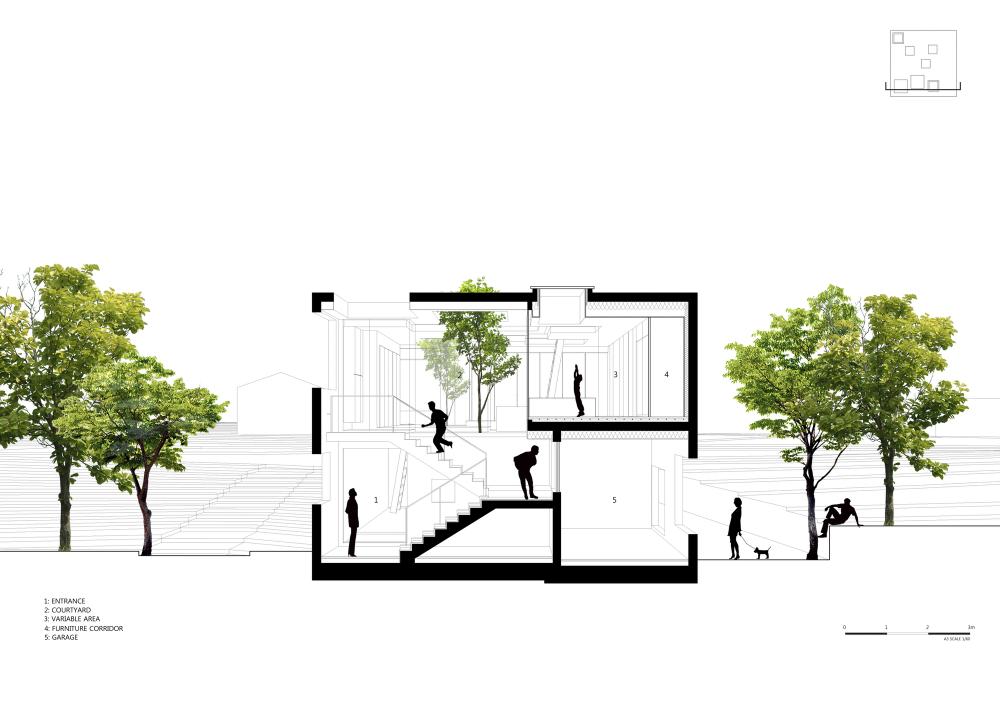 9X9 Experimental House / Studio Archiholic