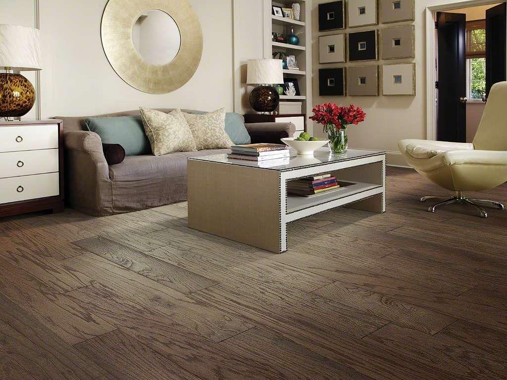Beautiful Medium Brown Hardwood Flooring Available at