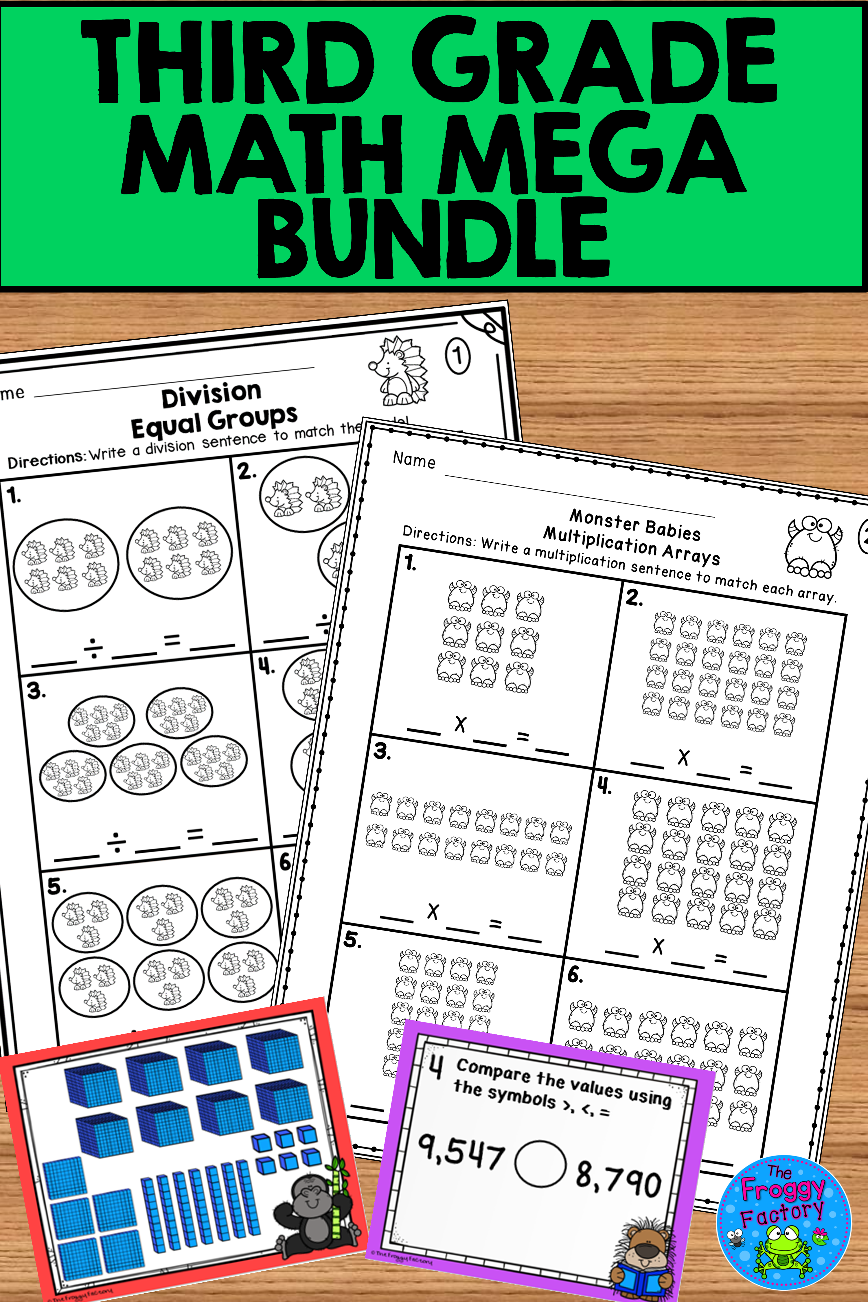 Third Grade Math Mega Bundle