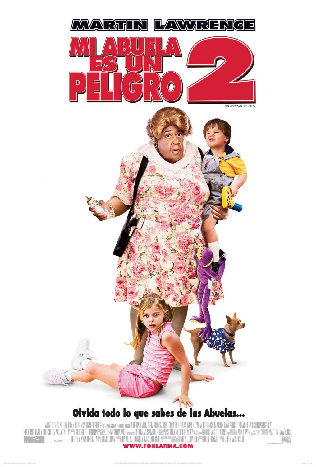 Big Momma S House 2 Starring Martin Lawrence Emily Procter Nia Long Zachary Levi On His Latest As Peliculas Audio Latino Online Peliculas Martin Lawrence