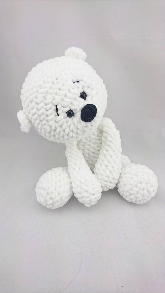 PDF Crochet Pattern ENGLISCH Micha Polar Bear | Häkeln anleitung ...