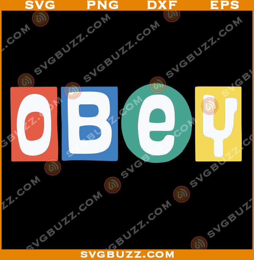 J Hope Obey Big Shot Svg Obey Big Shot Svg