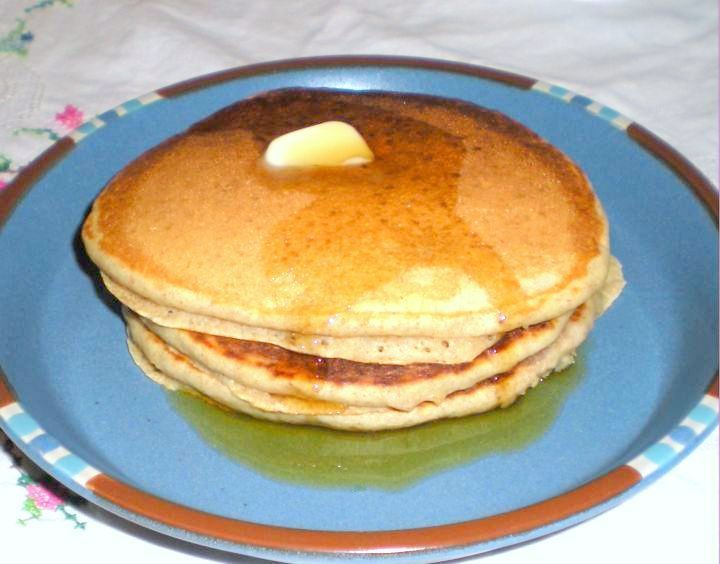 Buttermilk Pancakes A Small Batch Buttermilk Pancakes Breakfast Snacks Whole Wheat Pancakes