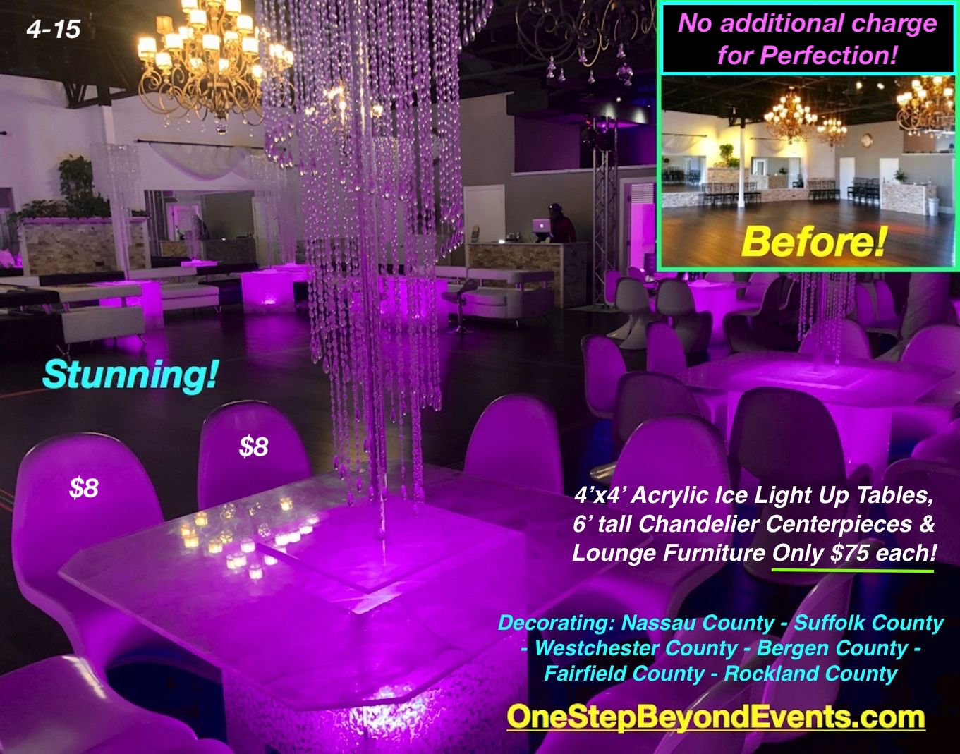 Pin On Led Light Up Table Rentals Decorative Service