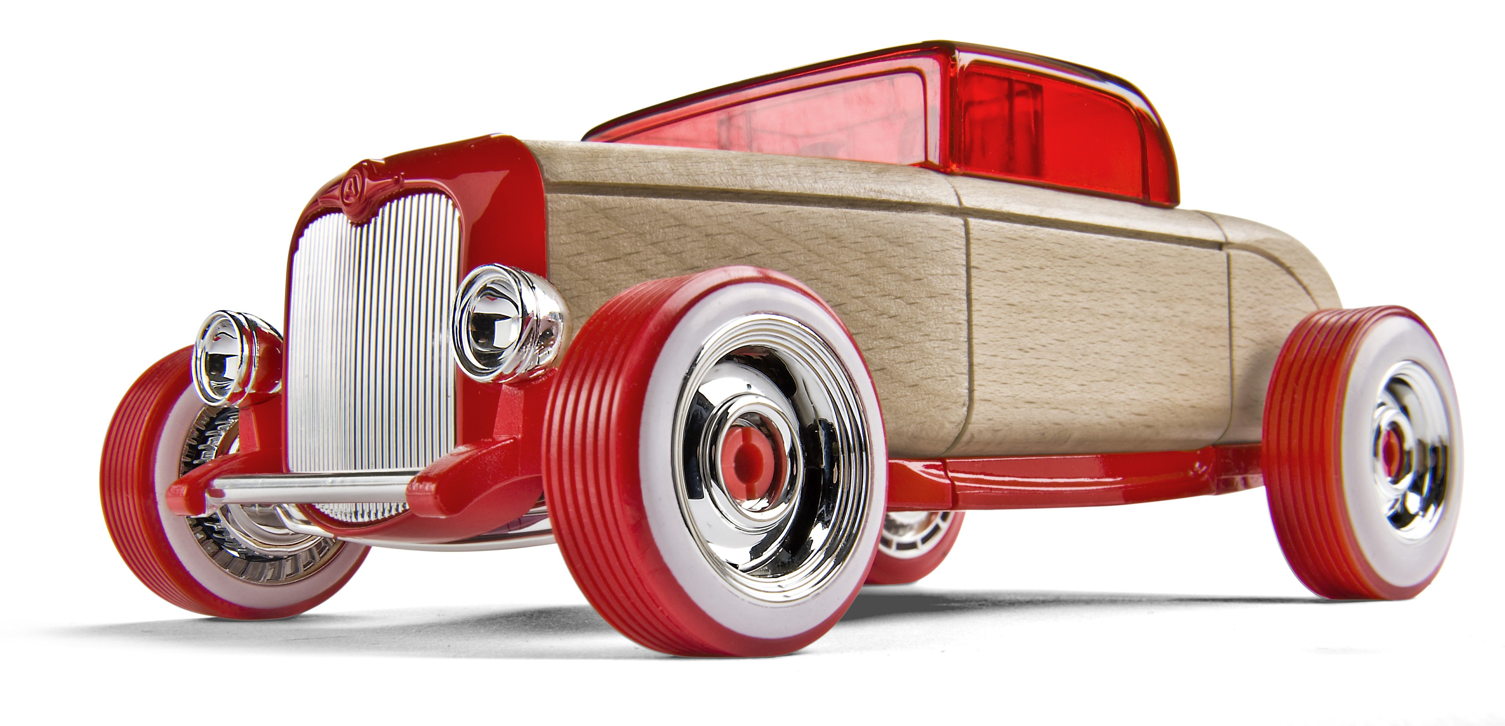 Hot Rod HR1 Car building toy parts of multiple models can be