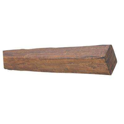 8 in. x 9 7/8 in. x 18 ft. 9 in. Faux Wood Beam