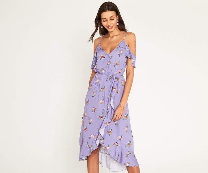 Cold Shoulder Dress Summer #affiliate