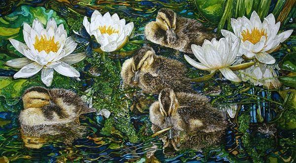 Wildlife Community by Rhian Symes | Artgallery.co.uk