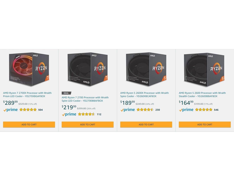 The Ryzen 7 2700x Is On Sale For Only 219 99 Usd On Amazon Amd Ryzen Cpu Sale Discount Amazon Processor Pc Ga Amd Amazon Amazon Discounts