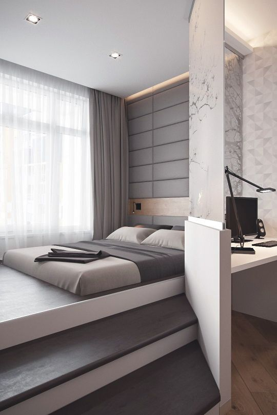 "Bedroom Modern Design Livingpursuit ""Studio Apartmentexpert Interior ""  Room Idea"