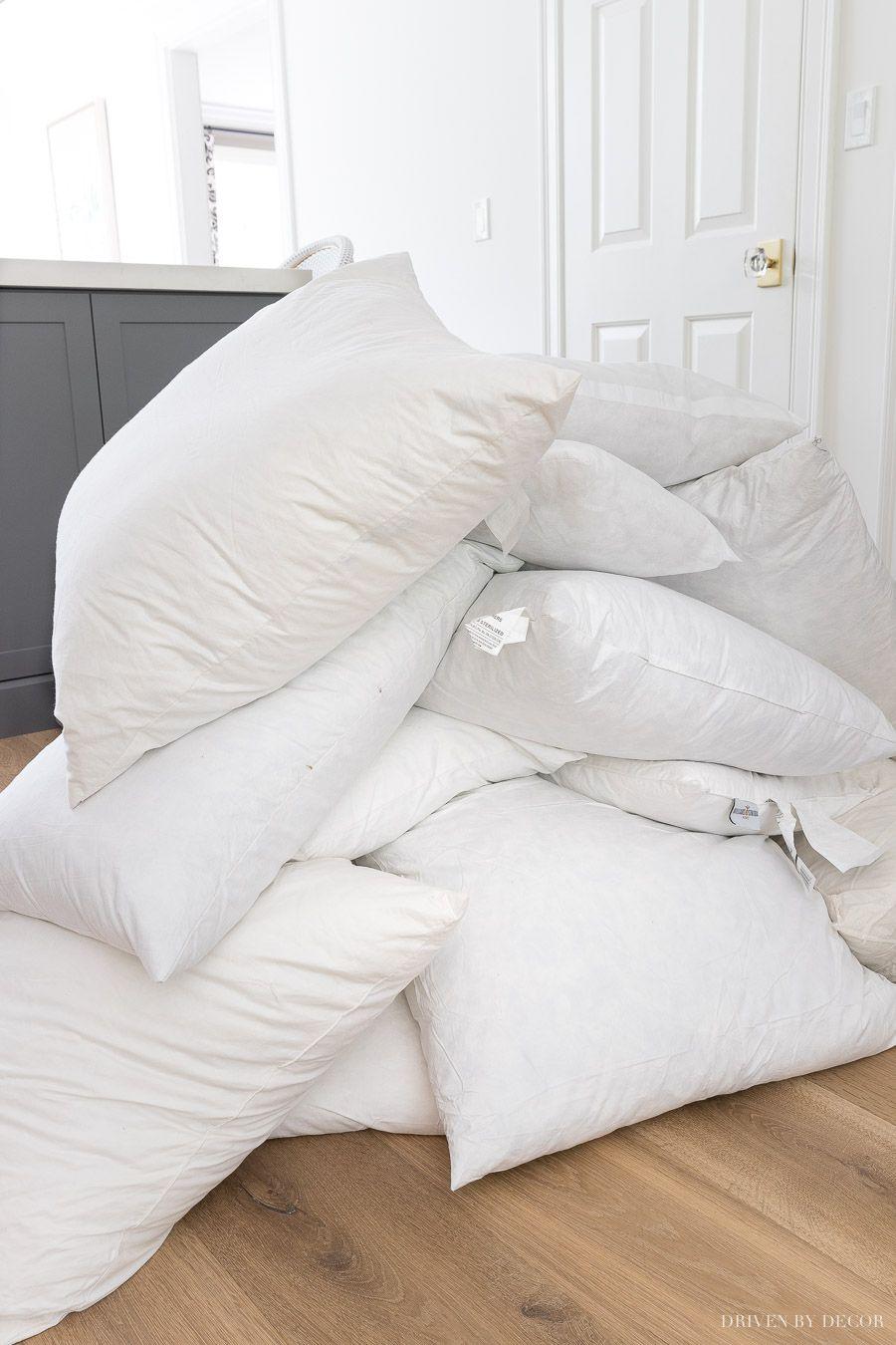 Throw Pillow Storage How To Organize Your Pillow Stash