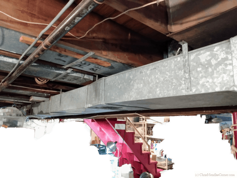 Adding insulation to existing forced hot air ducts