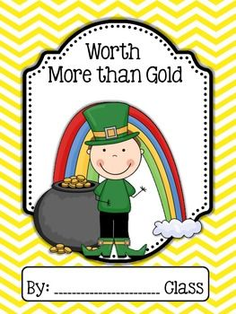 March Class Book Set...set of 5 class books!  Lions and Lambs, Windy Weather, Spring, Being Lucky, and Gold (St. Patrick's Day)!