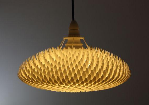 Waratah 3d Printed Lamp Ponoko Blog Lamp Design Lamp 3d Printing