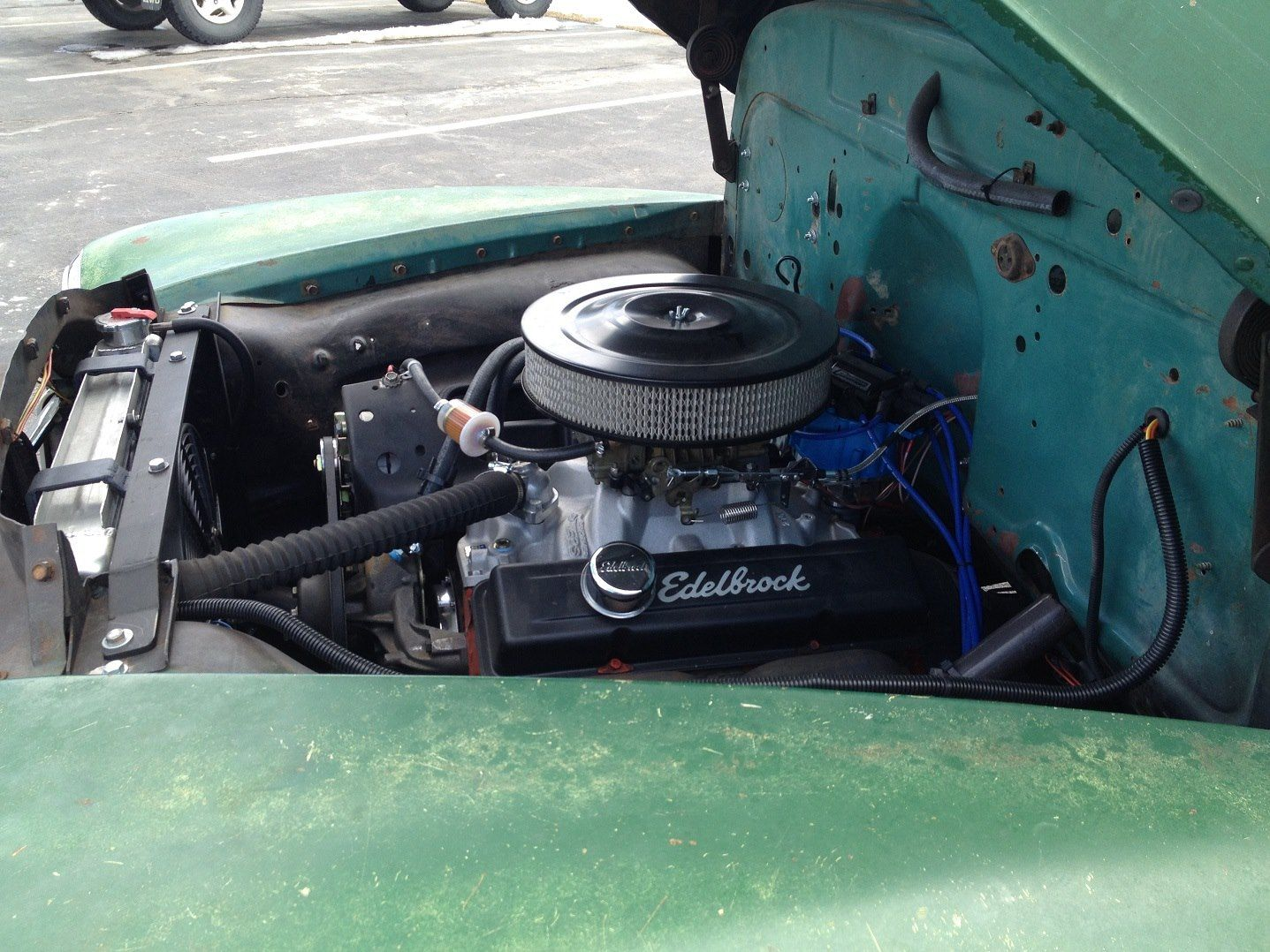 1956 chevy tattoo submited images pic2fly - Custom Radiator