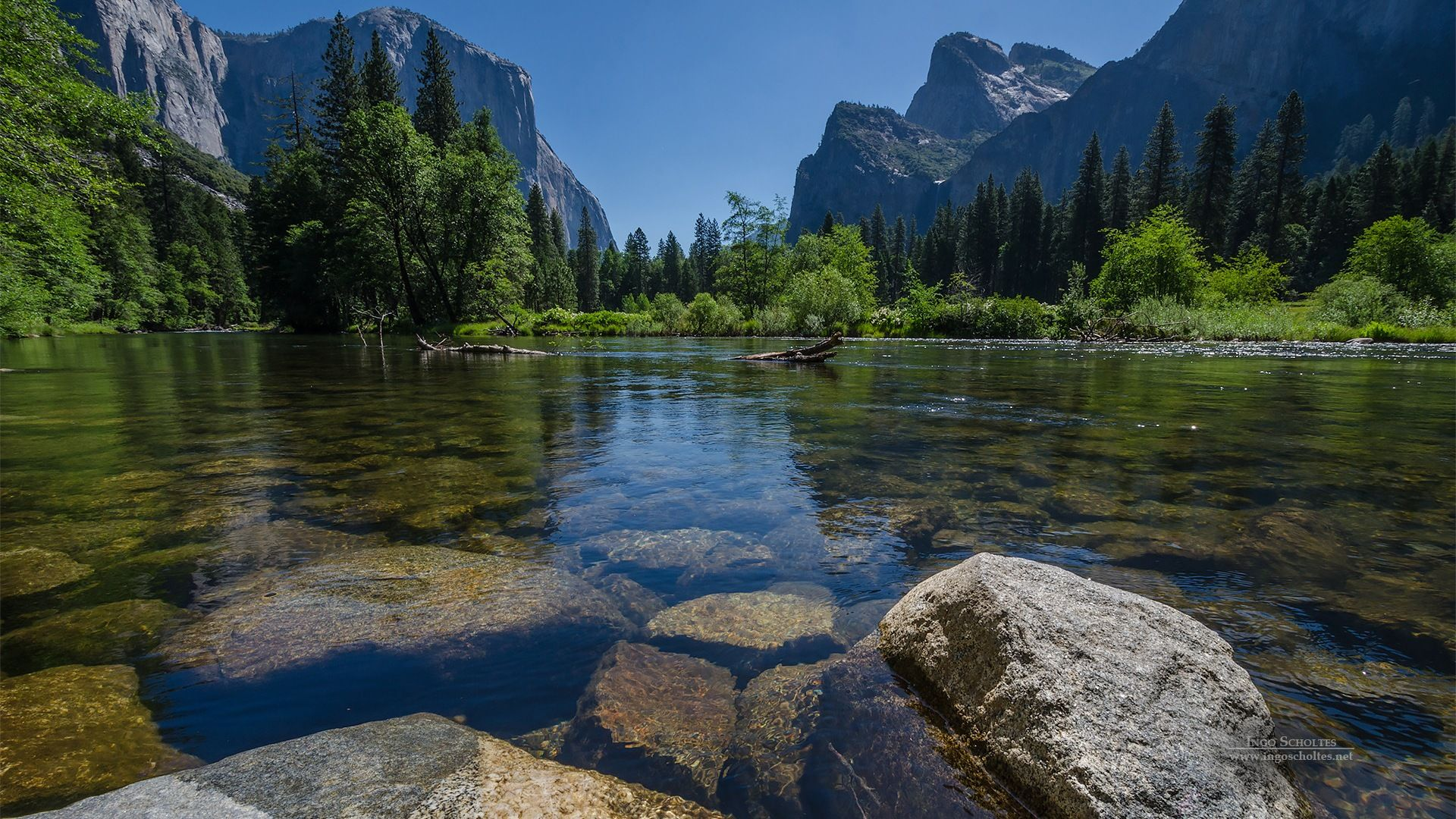 Windows 8 theme, Yosemite National Park HD wallpapers 1
