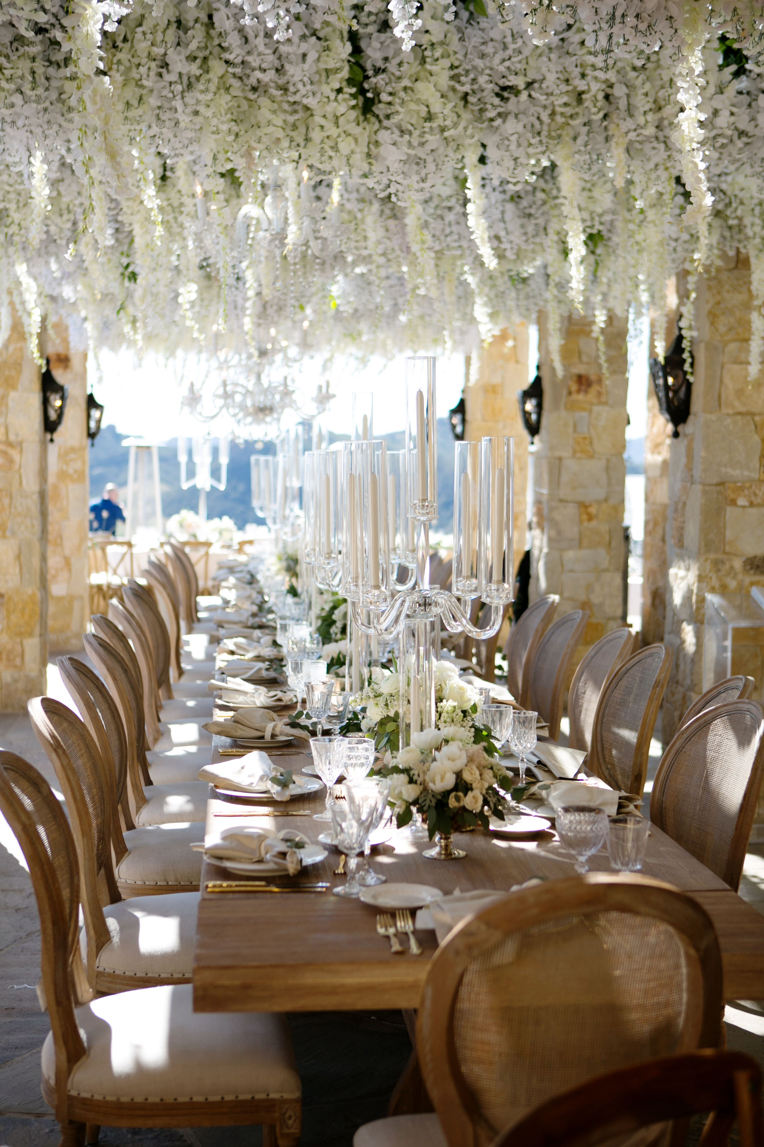 Gorgeous Hanging Fls For Wedding Reception Venue Malibu Rocky Oaks Photographer Apicturelife Photography