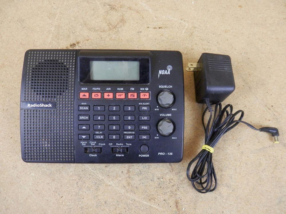 radio shack pro 136 200 ch desktop scanner police fire weather air rh pinterest com Radio Shack Scanners On Sale Professional Desktop Scanners